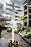 Port of juneau alaska and street scenes stock photography