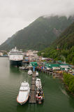 Port of Juneau town royalty free stock images