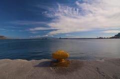 Port, Kalymnos Grèce Photo libre de droits