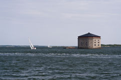 Port of Karlskrona Royalty Free Stock Photography