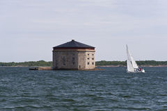 Port of Karlskrona Stock Photography