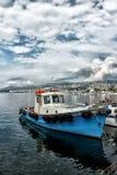 Port of Kavala, Greece Stock Photo