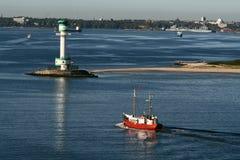Port of Kiel Stock Images