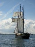 In the port of Kiel Royalty Free Stock Photo