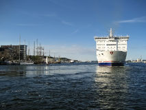 Port of Kiel Stock Image
