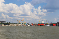 Port of Klaipeda Royalty Free Stock Photo