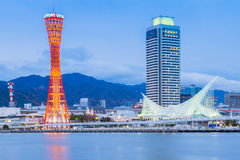 Port of Kobe , Japan royalty free stock image
