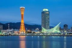 Port Kobe, Japonia obraz royalty free