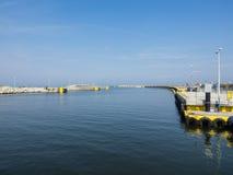 Port of Kolobrzeg Stock Photography