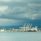Port of Koper, Slovenia, Europe. Royalty Free Stock Photography