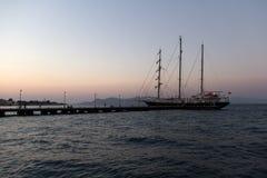 Port of Kos Stock Photo