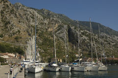 Port of Kotor Royalty Free Stock Photography