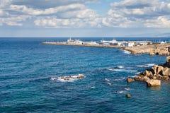 The Port of Kyrenia Stock Photo