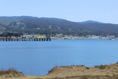 Port la Californie de point de pilier photos libres de droits