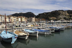 Port of la Cassis, French Riviera, Royalty Free Stock Image