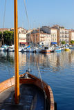 Port of La Ciotat in France royalty free stock photo