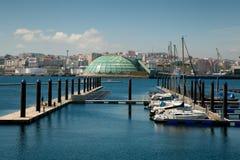 Port of La Coruña Royalty Free Stock Image