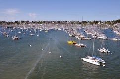 Port of La La-Trinité-sur-Mer in France Stock Photo