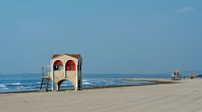 Port la nouvelle beach Royalty Free Stock Images