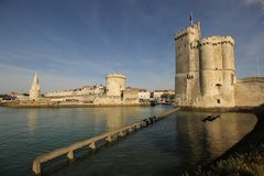 Port of La Rochelle Royalty Free Stock Image