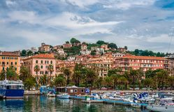The port of La Spezia. royalty free stock photography