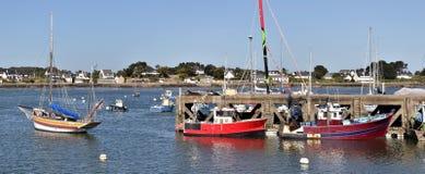 Port of La-Trinité-sur-Mer in France Stock Images
