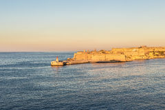 The port of La Valletta, Malta Stock Image