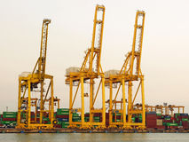 Port Laem Chabang, Thailand Royalty Free Stock Photos