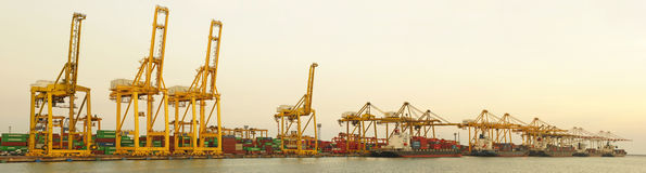 Port Laem Chabang, Thailand Stock Photo