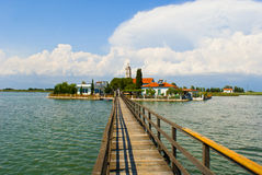 Port Lagos area at Thrace Royalty Free Stock Images