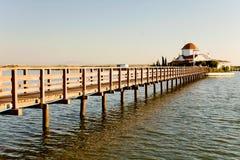 Port Lagos bay in Greece Royalty Free Stock Photos