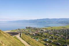 Port on Lake Baikal Royalty Free Stock Photography
