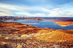 Port on Lake Powell Stock Photography