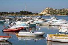 Port Le Brusc la Côte d'Azur Photographie stock