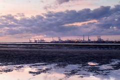 Port of Le Havre Stock Images