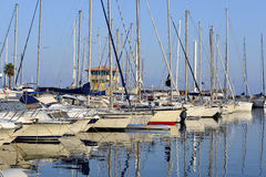 Port of Le Lavandou in France Royalty Free Stock Photography