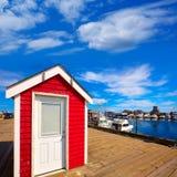 Port le Massachusetts USA de Cape Cod Provincetown Photos libres de droits