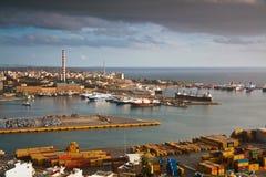 Port Le Pirée, Athènes de cargaison images stock