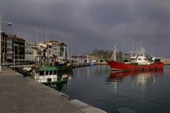 Port Lekeito, Baskijski kraj, Hiszpania Fotografia Royalty Free
