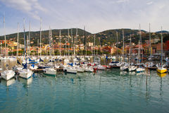 Port of Lerici, Cinque Terre Royalty Free Stock Photo