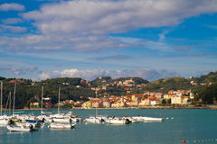 Port of Lerici, Cinque Terre Stock Photo