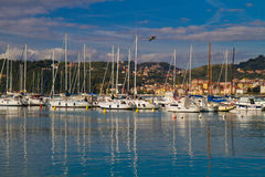 Port of Lerici, Cinque Terre Royalty Free Stock Image