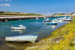 Port les Cornouailles de Hayle Photos stock