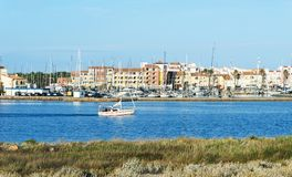 Port-Leucate, en Leucate, Francia Imagen de archivo