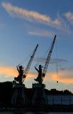 Port of Liepaja, Latvia Royalty Free Stock Image