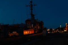 Port of Liepaja, Latvia Stock Photo