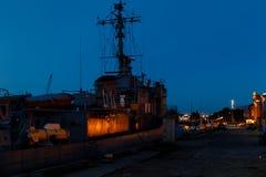 Port of Liepaja, Latvia Royalty Free Stock Photography