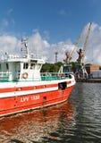 Port of Liepaja, Latvia Stock Photos