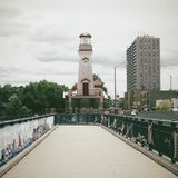 Port. Light house mississauga Canada Royalty Free Stock Photography