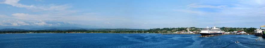 Port Limon Royalty Free Stock Image